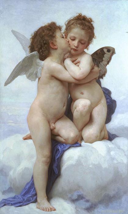 L'Amour et Psyche enfants. French artists