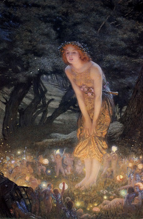 Hughes Edward Robert Midsummer Eve. French artists