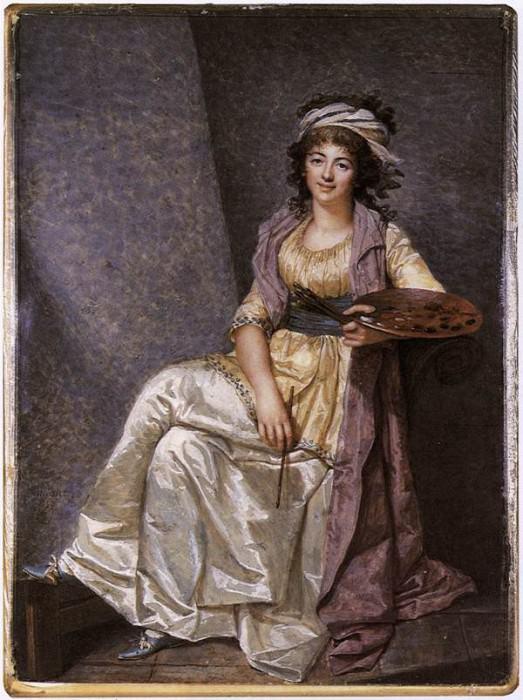 DUMONT Francois Marguerite Gerard. French artists