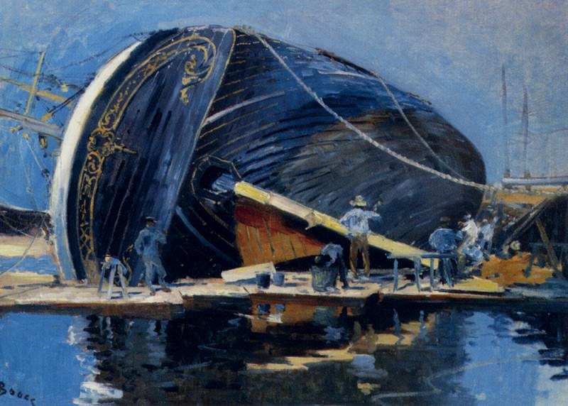 Boggs Frank Myers The Ship Builders. French artists