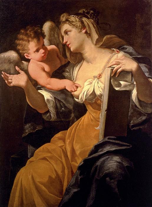 Пазинелли, Лоренцо - Сивилла, воодушевленная путто, или Сивилла Будриоли. Французские художники