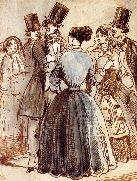 Гюи, Константен - Разговор. Французские художники
