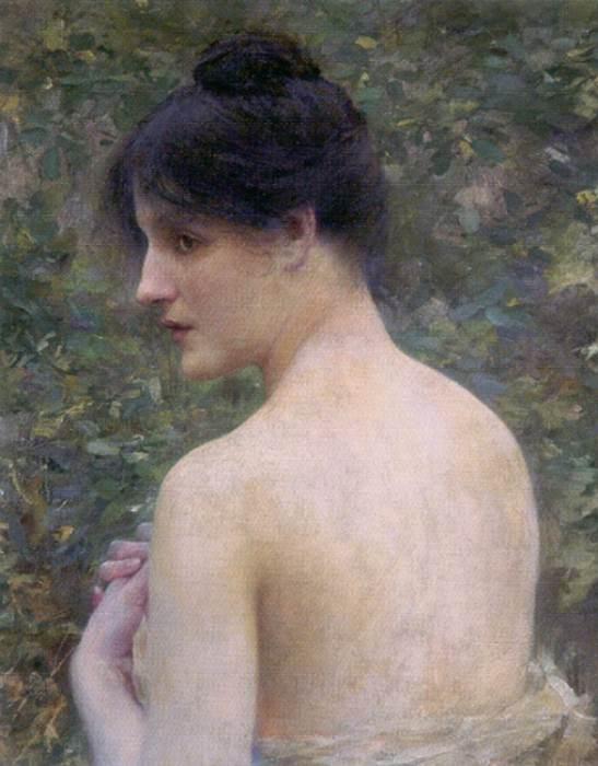Collin Louis Joseph Raphael The Beauty Portrait. French artists