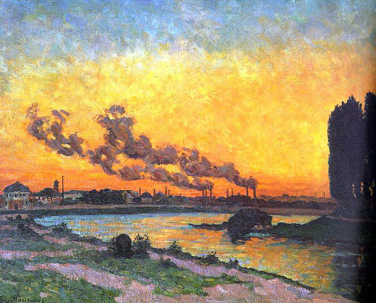 Guillaumin, J B Armand (French, 1841-1927). French artists