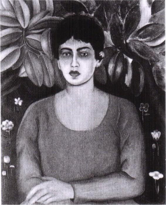 portrait de Lupe Marin, 1ere femme de Rivera. Frida Kahlo