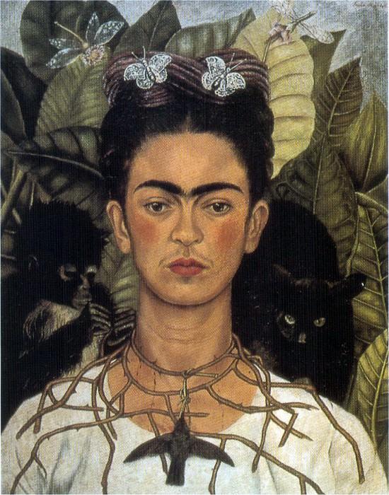 Автопортрет (3). Фрида Кало