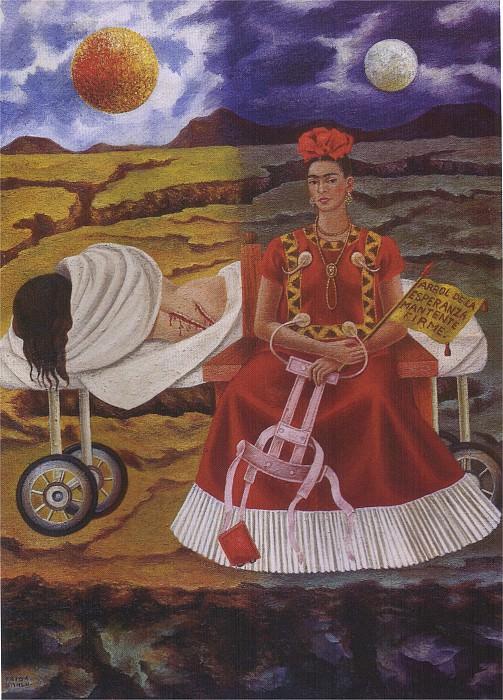 Arbre de lesperance - tiens-toi droit. Frida Kahlo