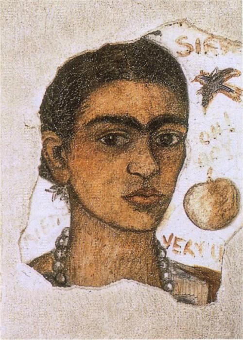 Безобразный автопортрет. Фрида Кало