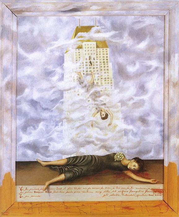 The Suicide Of Dorothy Hale (2). Frida Kahlo