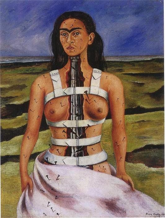 The Broken Column (2). Frida Kahlo