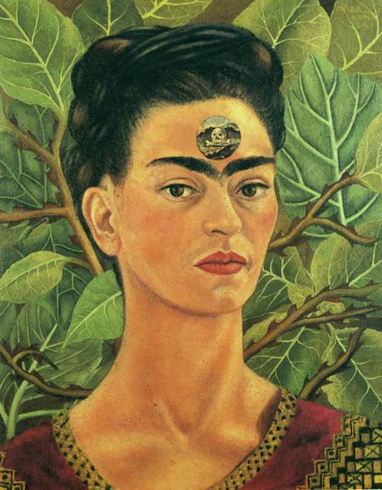 Thinking About Death. Frida Kahlo