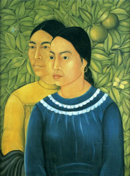 Two Women. Frida Kahlo