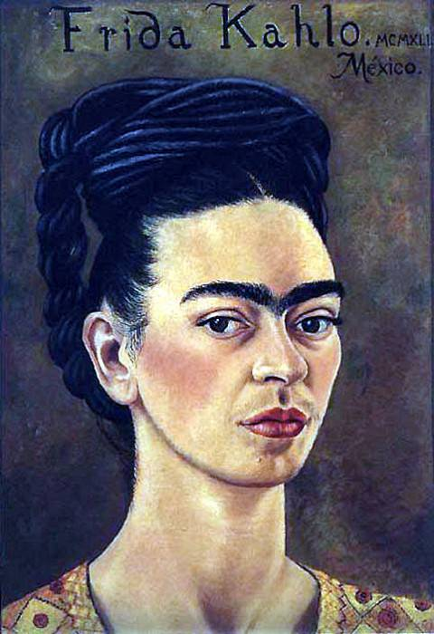 Self-Portrait (I). Frida Kahlo