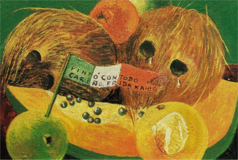 Слёзы кокосовых орехов. Фрида Кало
