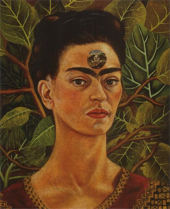 En pensant a la mort. Frida Kahlo