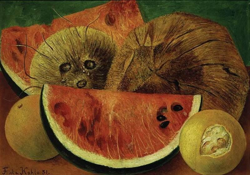 Кокосовый орех. Фрида Кало