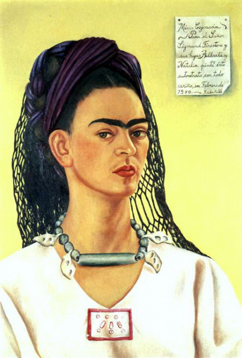 Self-Portrait (III). Frida Kahlo