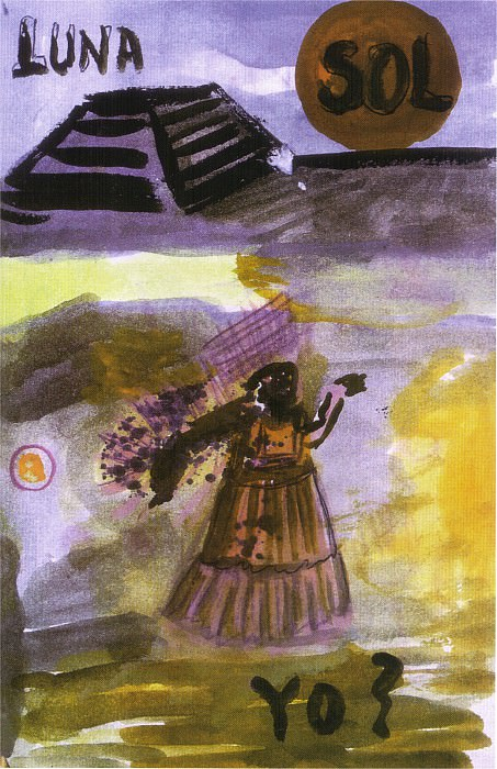 Страница журнала. Фрида Кало