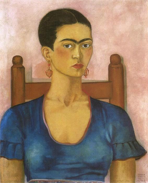 Autoportrait. Frida Kahlo