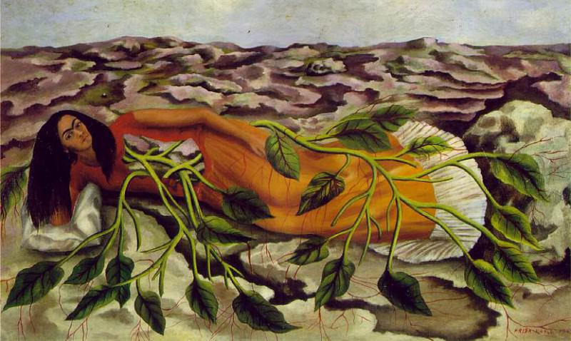 Roots (Raices) (2). Frida Kahlo
