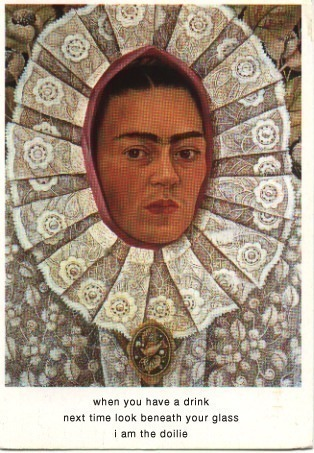 Self-Portrait. Frida Kahlo