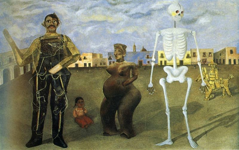 Four Inhabitants of Mexico. Frida Kahlo