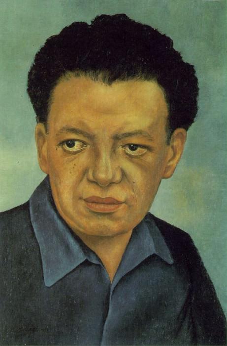 Портрет Диего Риверы. Фрида Кало