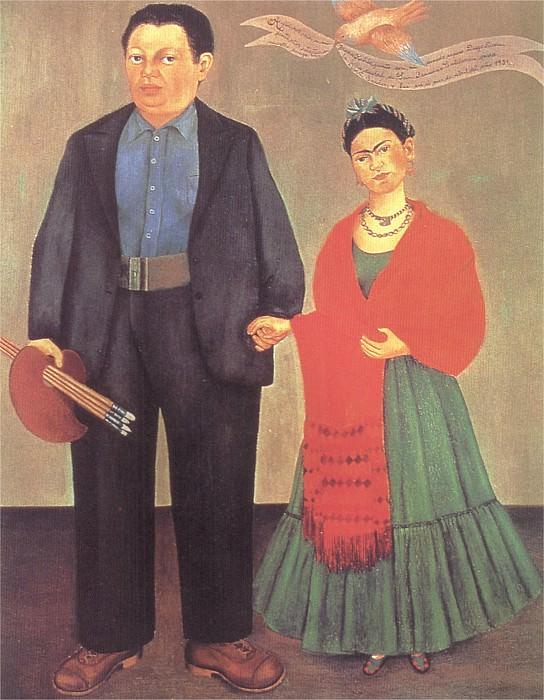 Frida and Diego Rivera. Frida Kahlo