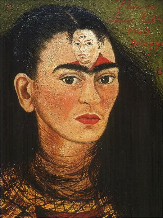 Диего и я. Фрида Кало