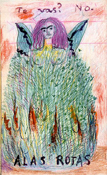 journal (15). Frida Kahlo