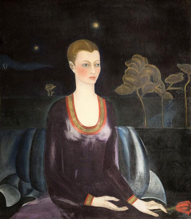 Portrait of Alicia Galant. Frida Kahlo