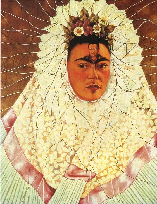 Self-Portrait as a Tehuana (Diego on My Mind). Frida Kahlo