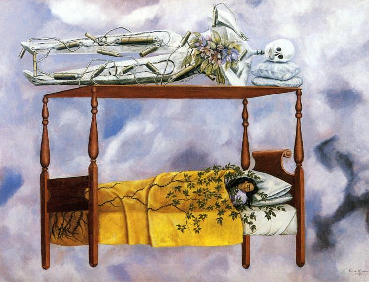 The Dream. Frida Kahlo