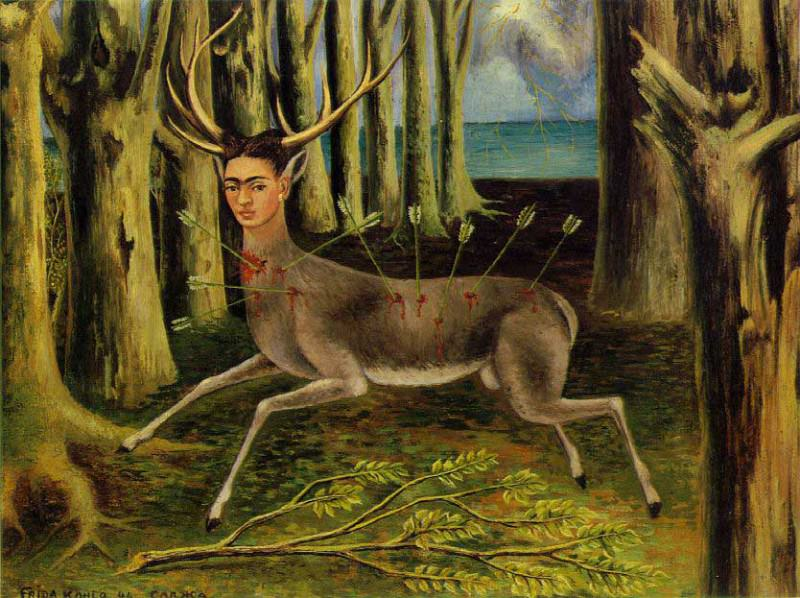 The Little Deer. Frida Kahlo
