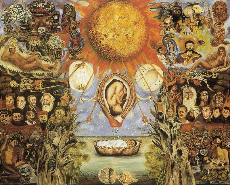 Moise (le nucleus). Frida Kahlo