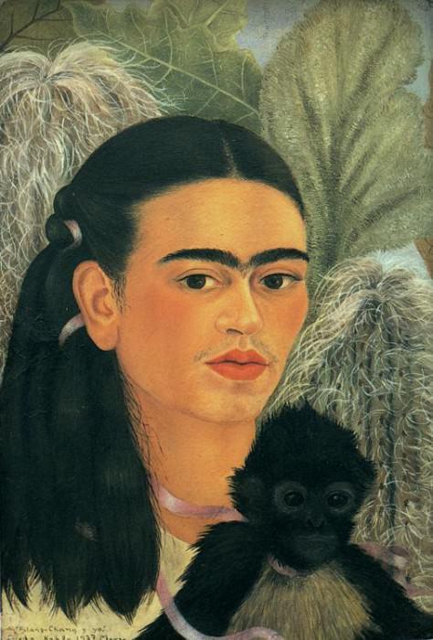 Фулянь-Чань и я. Фрида Кало