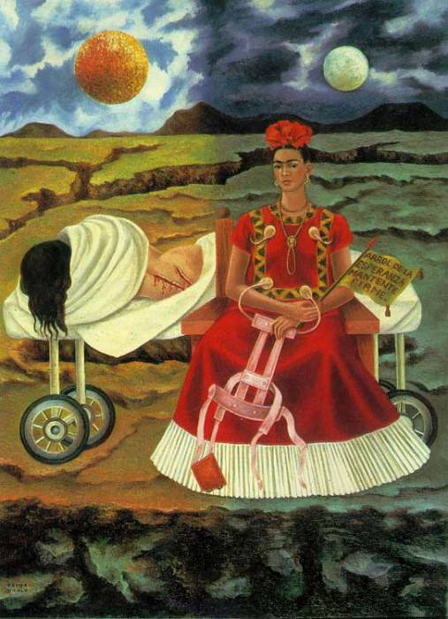 Self-Portrait (IV). Frida Kahlo