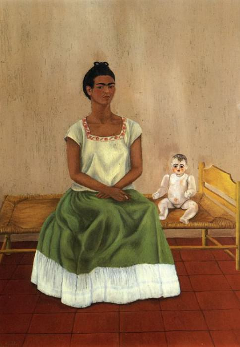 Me and My Doll. Frida Kahlo