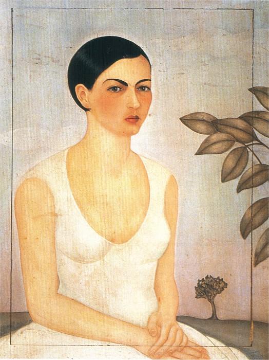 Portrait de ma soeur, Cristina. Frida Kahlo