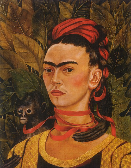 Self-Portrait (V). Frida Kahlo