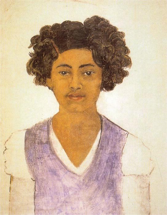 Self-Portrait. Frida Kahlo