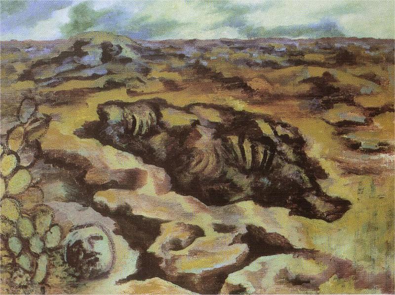 Пейзаж. Фрида Кало
