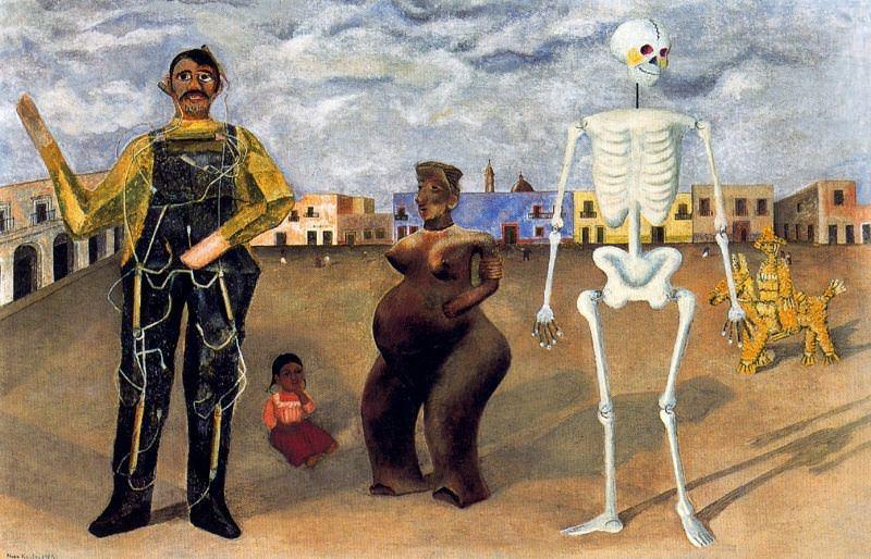 Четыре обитателя Мехико (1). Фрида Кало