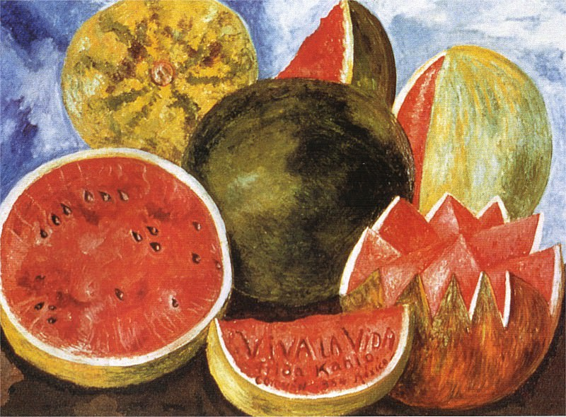 Nature morte - viva la vida. Frida Kahlo