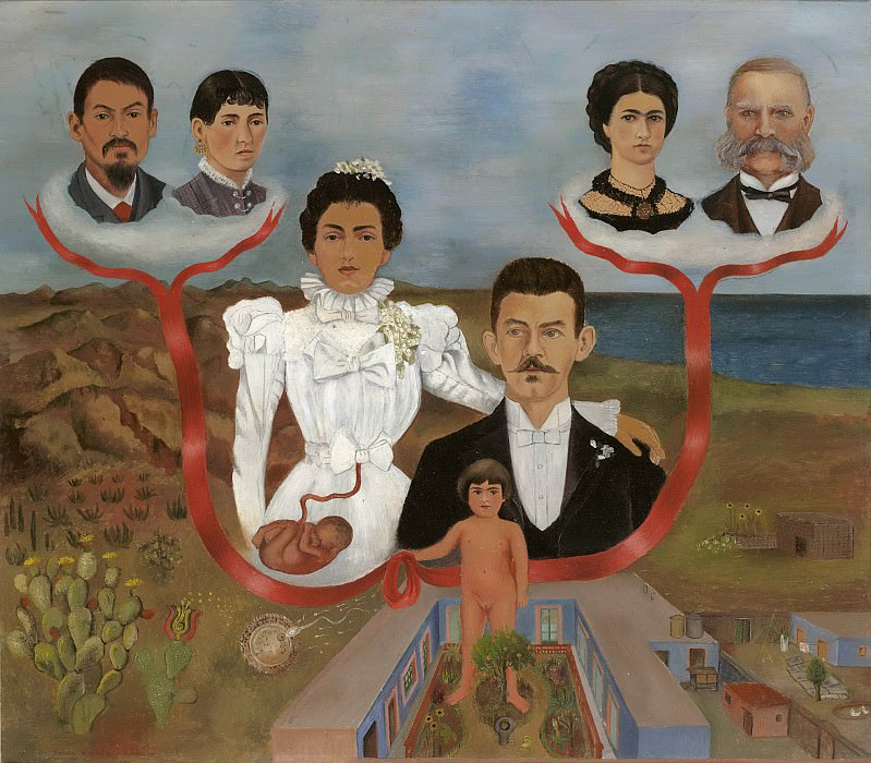 My Grandparents, My Parents, and I. Frida Kahlo