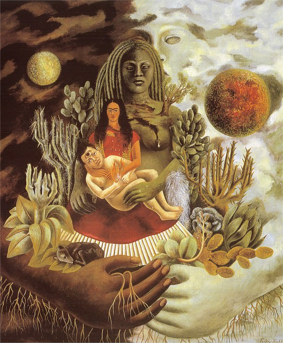 Letreinte amoureuse de lunivers. Frida Kahlo