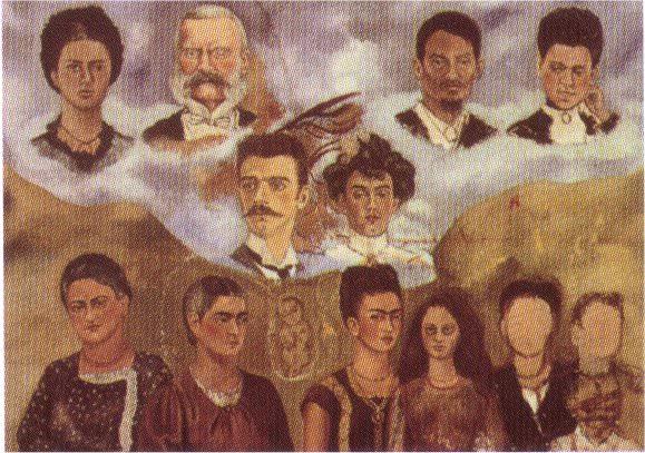 Портрет семейства Кало. Фрида Кало