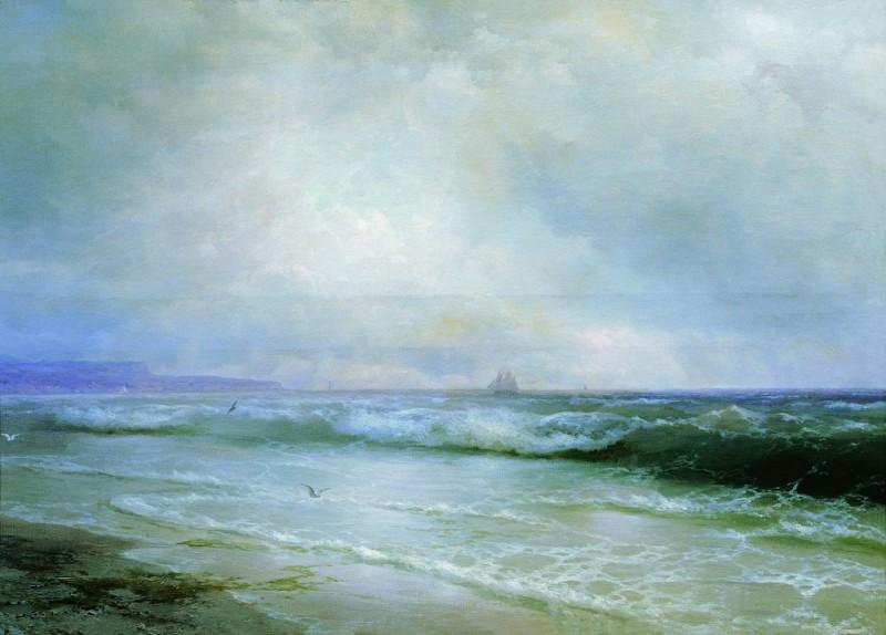 Surf 1893 65h100. Ivan Konstantinovich Aivazovsky