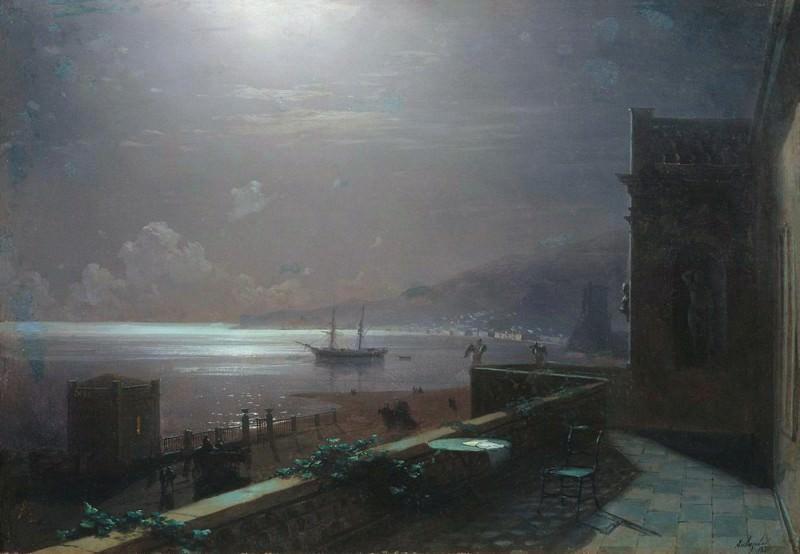 Feodosiya. Moonlight 1880. Ivan Konstantinovich Aivazovsky