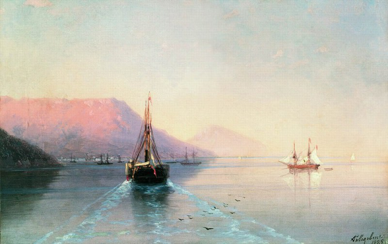 Calm 1885 18. 5h24. Ivan Konstantinovich Aivazovsky